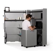 meuble bureau fermé bureau qui se ferme petit bureau lepolyglotte