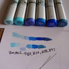 alcohol marker comparison u2013 part 1 copic tutorial no 27