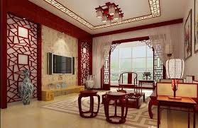 Decoração Em Estilo Asiático Interior Design Living Room Living - Chinese style interior design