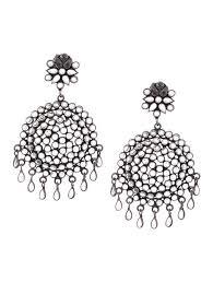 style of earrings buy silver earrings online at jaypore