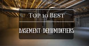 top 10 best dehumidifier for basement 2017 edition cool