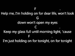 Chandelier Lyric Sia Chandelier Lyrics Guitar Chords