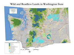 Washington State County Map by Wildlands Of Washington State