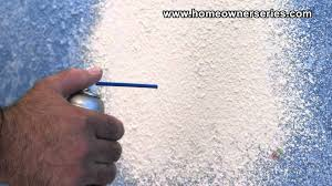 how to texture drywall spray can texture drywall repair youtube