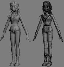 Female Body Reference For 3d Modelling Making Of U0027annie U0027 By Florian Falcucci Page 1 Of 5 3ds Max