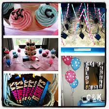 twin baby shower theme was pink and blue for a and a boy