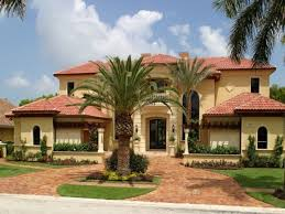 decor tuscan style homes plans ideas with pavers pathway and