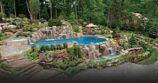 Pool Design Pictures by Swimming Pool Landscaping Ideas