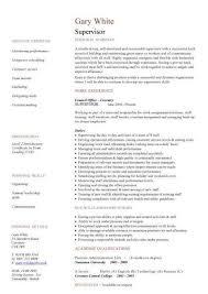 Plumbing Supervisor Resume Sample Supervisor Resume Sample Unforgettable Shift Supervisor Resume