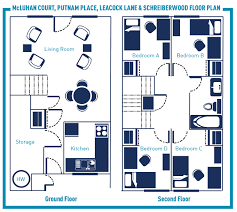 residence overview student housing residence life mcluhan court putnam place leacock lane schreiberwood floor plan