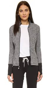 Sweater With Thumb Holes Prismsport Zip Up Jacket With Thumbholes In Black Lyst