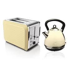Bella Linea 4 Slice Toaster Bella Dots Kettle And Toaster Set
