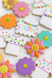 mexican fiesta decorated cookies u2013 glorious treats