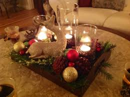 table decoration for christmas furniture coffee table christmas decor with pine cone and