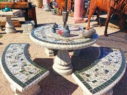 Mosaic Patio Table And Chairs 29 Best Patio Table Sets Images On Pinterest Mosaic Mosaic