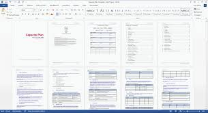 Free Capacity Planning Template Excel Word Free Templates Resume Template With Ms File For Project