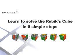 how to solve a rubik u0027s cube