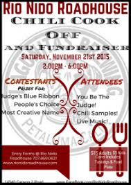 nido roadhouse chili cook fundraiser the community of
