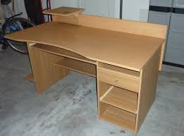d licieux table de bureau en bois pont massif beraue ikea agmc dz