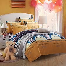 Superking Duvet Sets Home Textiles Cartoon Cotton Totoro Printed Bedding Sets Kids Like