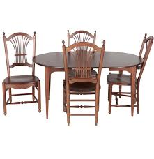 Antique Mahogany Dining Room Furniture by Vintage Mahogany Dining Table With Leaf Insert By S Bent