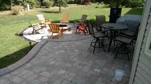 Paver Patio With Retaining Wall by Paver Patio Columbus Ohio Home Design Ideas And Pictures