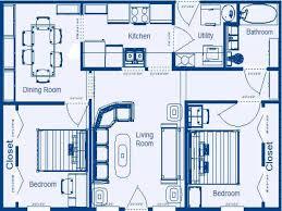100 two bedroom floor plans two bedroom floor plans
