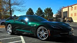 official lime rock green metallic thread corvetteforum