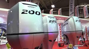 2016 honda outboard engine bf200 bf225 bf250 walkaround 2015