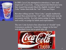 Pepsi Blind Taste Test Taste Your Brain On Food