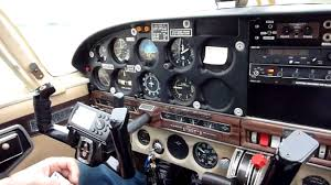 checklist run up and takeoff in a piper cherokee 180 youtube