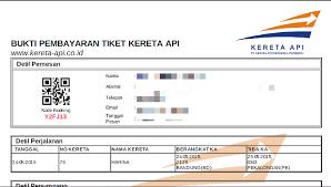 Tiket Kereta Api Catatan Kecil How To Travel By Rail In Indonesia