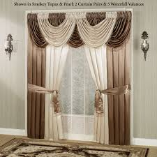 Antique Satin Valances by Portia Ii Waterfall Valance Window Treatments