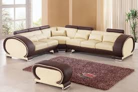 Brown Leather L Shaped Sofa Italian Leather L Shape Sofa Furniture For Living Room Furniture