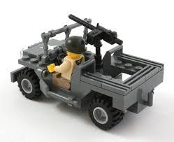 jeep lego amazon com brickmania ww2 jeep with us infantry minifig custom