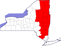 Hudson Valley New York Map by Tech Valley Wikipedia