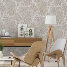 Modern Floral Wallpaper Rasch Floral Rose Pattern Wallpaper Mural Flower Motif Textured 525601