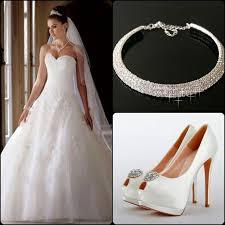 wedding dress necklace white wedding dress necklace white shoes house of