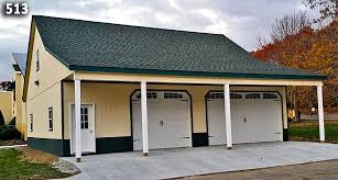 3 car garage with loft custom garage custom garage plan horizon structures