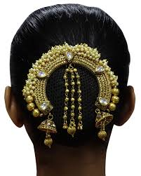 hair accessories for indian weddings kundan indian women ambada bun pin wedding party hair