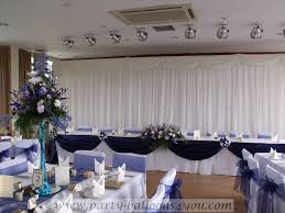 wedding at fry club keynsham balloon flowers chair covers and