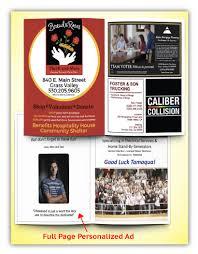 printed programs program printing sports events printingcenterusa