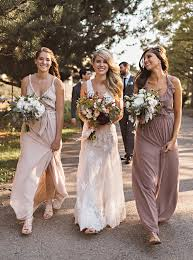 joanna august bridesmaid dresses neutral girly bridesmaid dresses from joanna august from