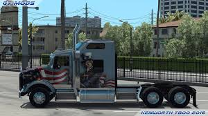 kw trucks pictures gt mods kenworth t800 2016 v0 3 3 mod american truck simulator