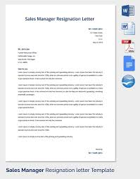 resignation letters format sample professional letter formats