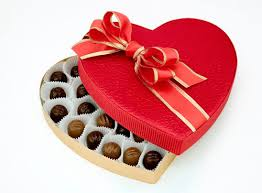 valentines chocolates candy addict this just in men more likely to give than receive