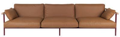 canapé cuir naturel made in design mobilier contemporain luminaire et décoration