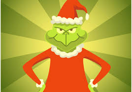 grinch stole christmas vector download free vector art