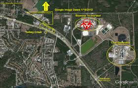 Alachua Florida Map by Dust And Noise Are Chief Gru Grec Incinerator Complaints