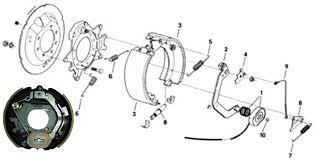 dexter 12 1 4 x 3 3 8 inch electric trailer brake 4 bolt at